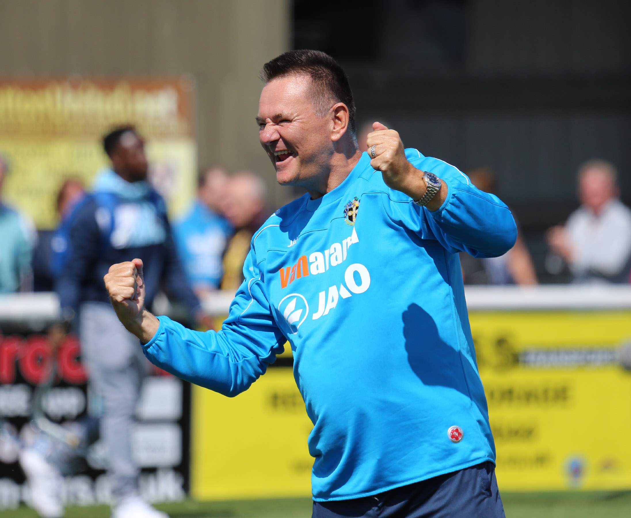 Sutton United boss Paul Doswell has several key players out with injuries. Picture: Paul Loughlin