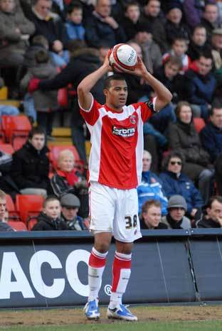 Tom Soares in his playing days at Charlton Athletic