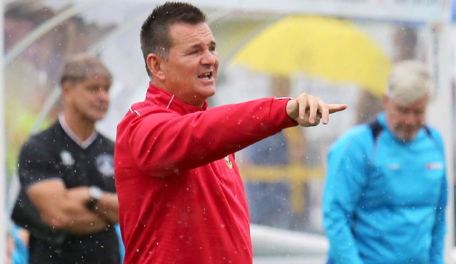 Sutton United manager Paul Doswell was frustrated with the refereeing at Salford City on Tuesday night. Picture: Paul Loughlin