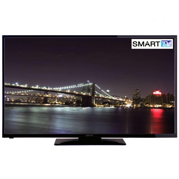 Surrey Comet: Digihome Black 4K Ultra Smart TV