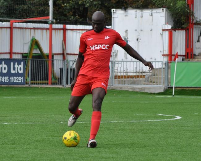 Carshalton Athletic boss Peter Adeniyi is delighted with his side's recent form. Picture Ian Garrard