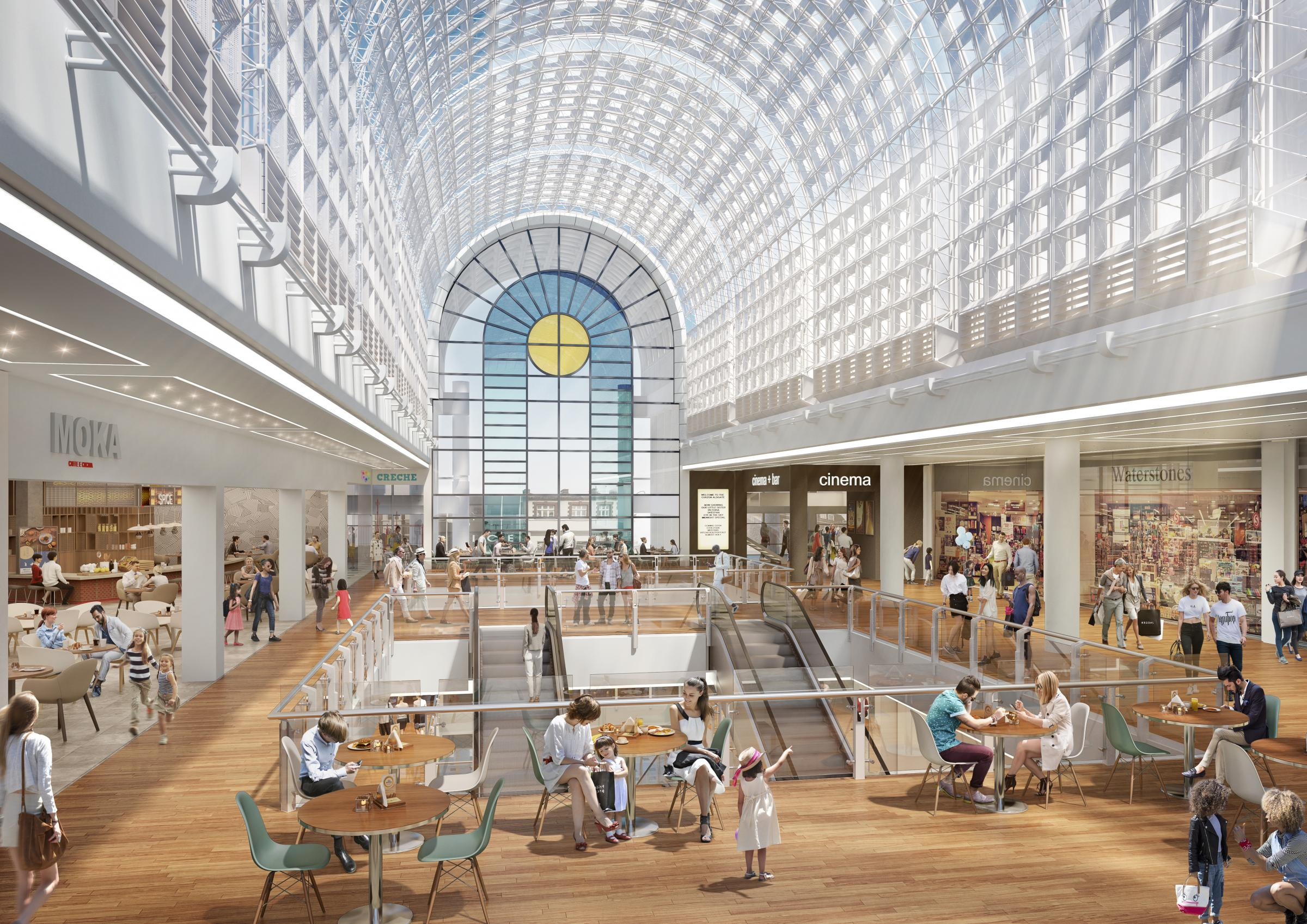 Four shops, including three new additions, are opening in The Bentall Centre.