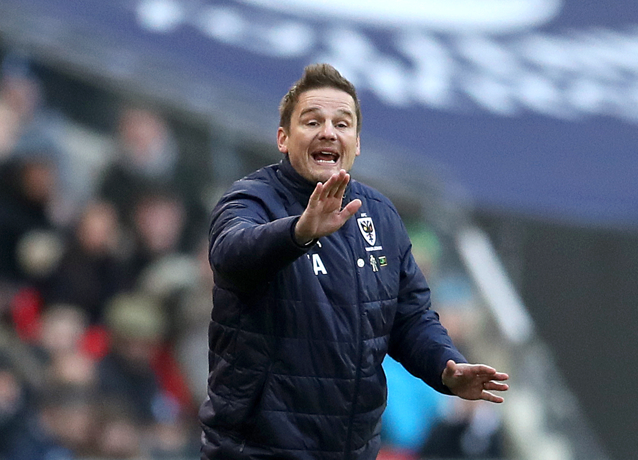 AFC Wimbledon manager Neal Ardley. Photo: Adam Davy/PA Wire