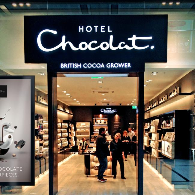 Hotel Chocolat is set to open at the Ashley Centre