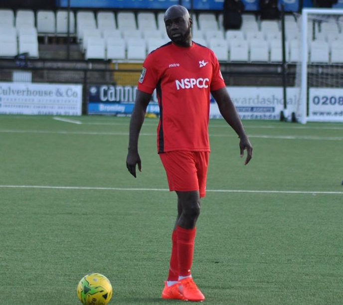 Carshalton Athletic boss Peter Adeniyi is looking forward to the Bostick South clash with league leaders Lewes. Picture: Ian Gerrard
