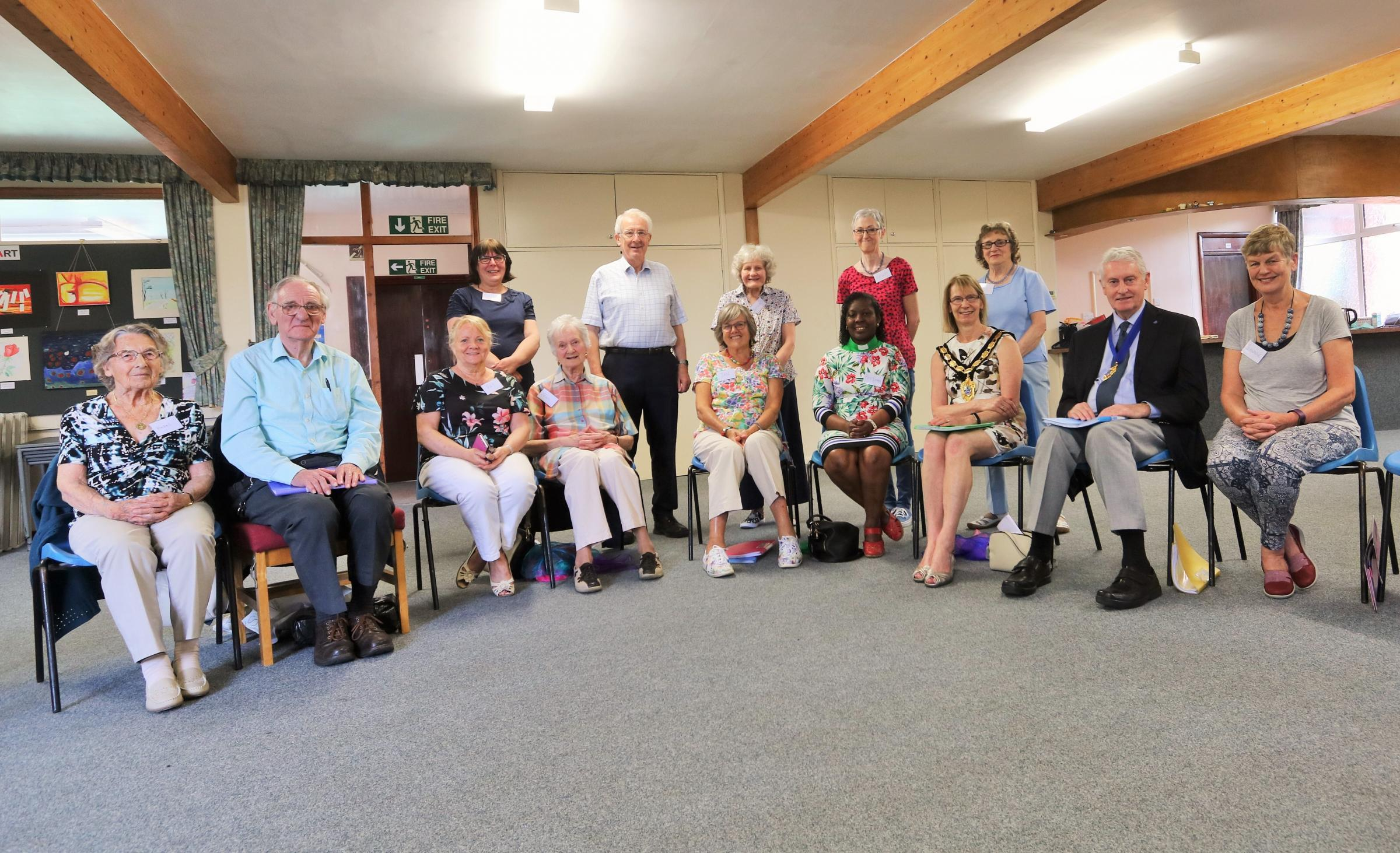 Stoneleigh Methodist Church's new singing group