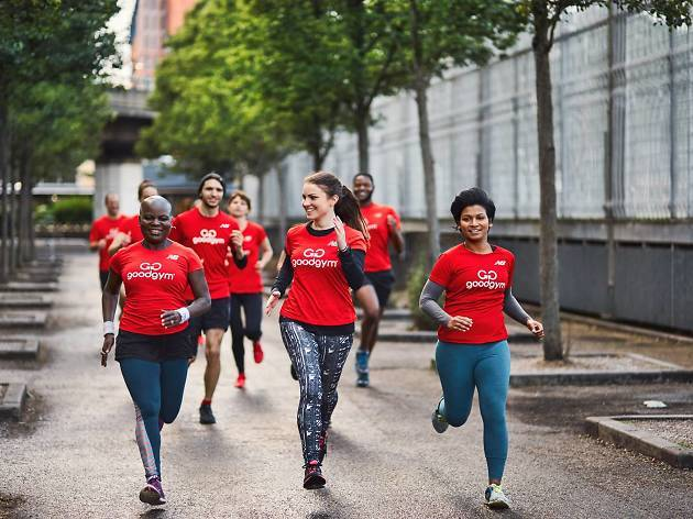 Good Gym runners hope to combine getting fit with community work.