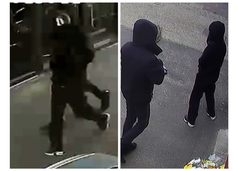 Suspects in a Banstead robbery