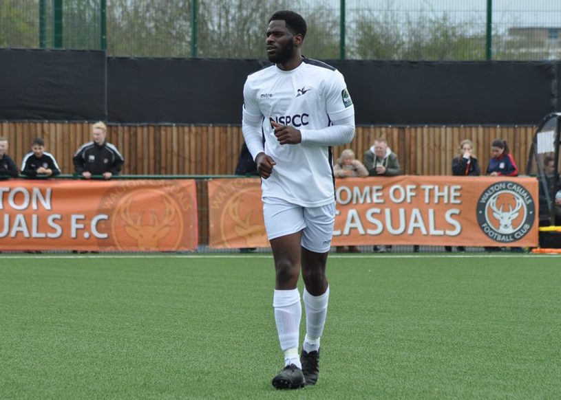 Ola Sogbanmu has committed to Carshalton Athletic. Picture: Ian Gerrard