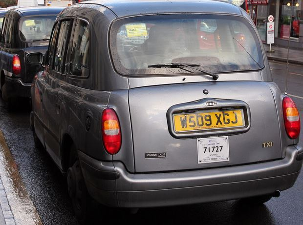 London cabbies are allegedly misusing the parking bays.