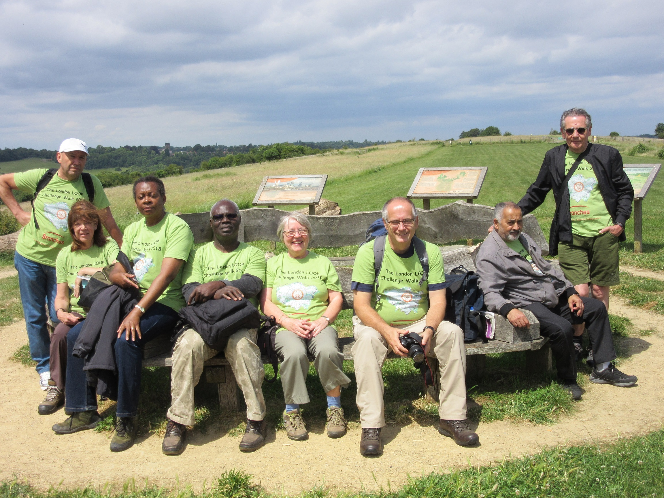 Group takes on teh London Loop