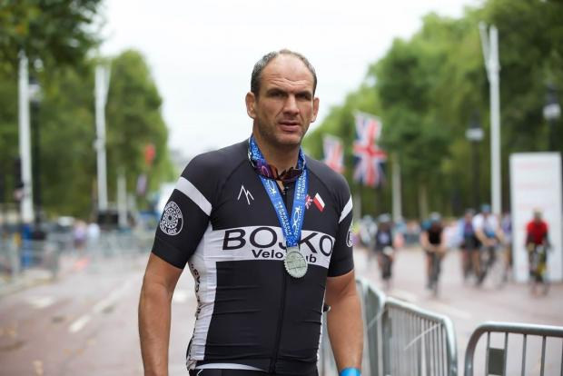 Surrey Comet: Martin Johnson will be able to add his Prudential RideLonon medal to his collection of Rugby accolades, which includes a World Cup. © Keith Larby/AK Photos