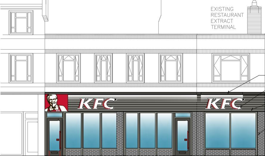 Plans submitted for new KFC signs