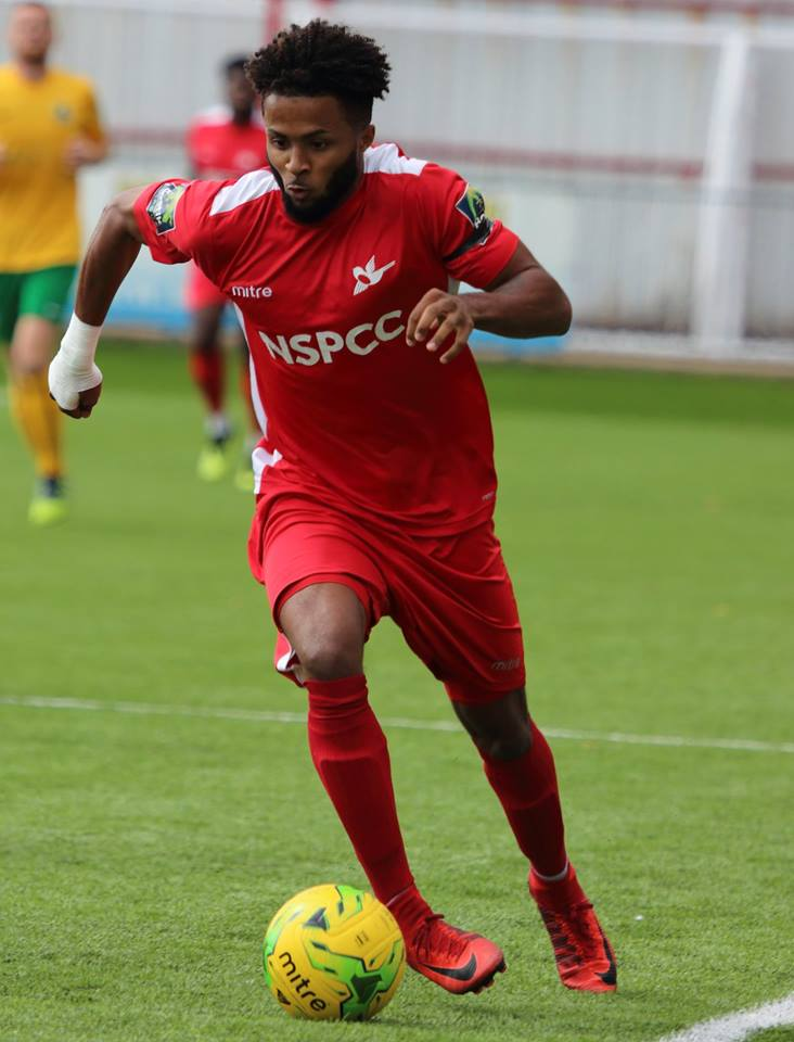 Ricky Korboa in action (Pic: Chris Bushe)