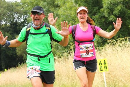 North Downs Half-Marathon and Marathon, July 2019