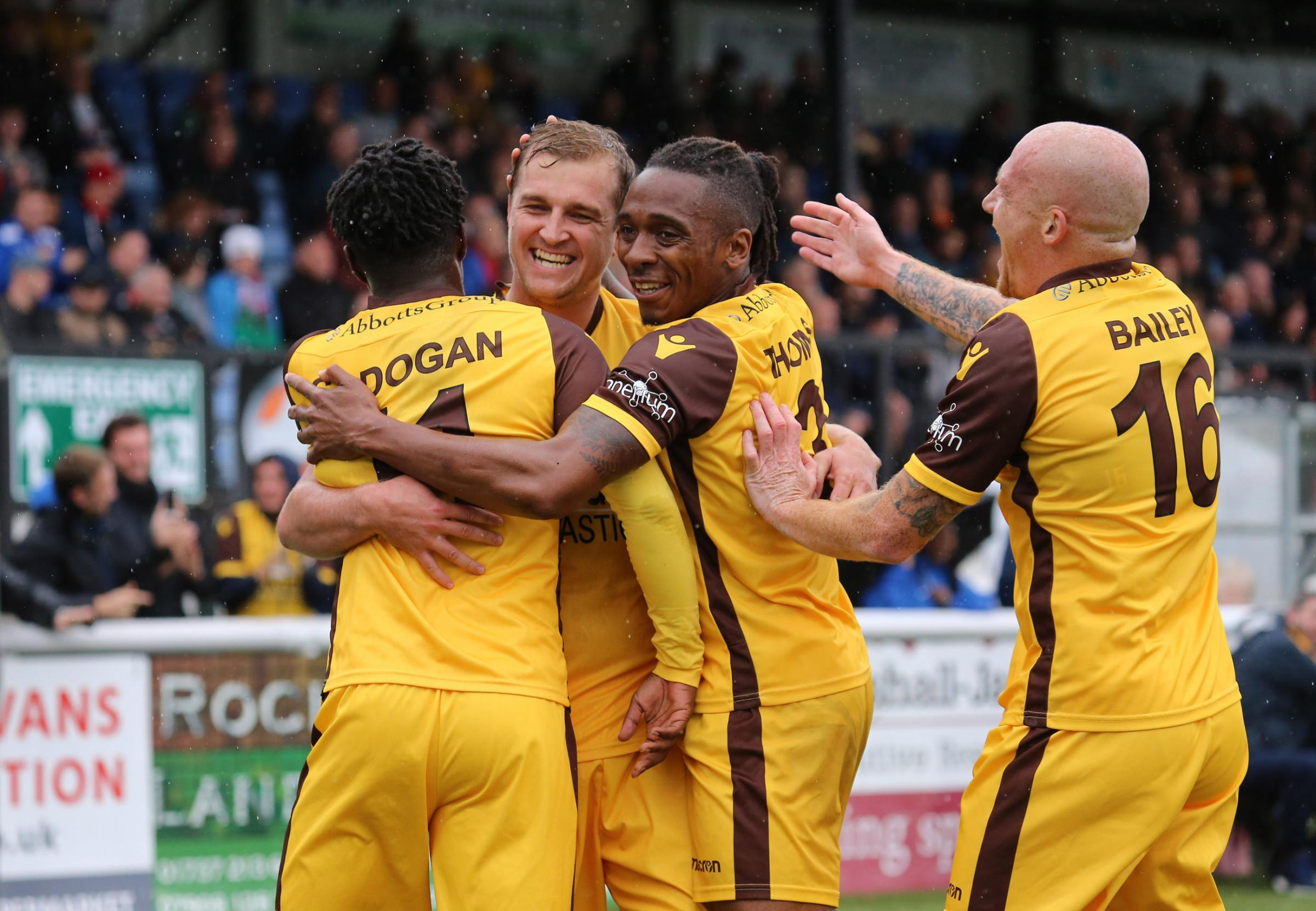 Sutton United are offering season tickets to under-10s for free next season. Picture: Paul Loughlin