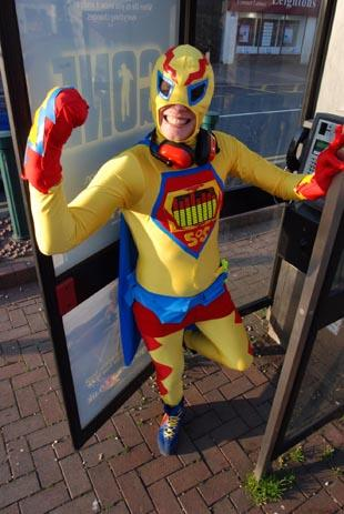 There's a new hero in Epsom and Sutton and he's looking for a sidekick