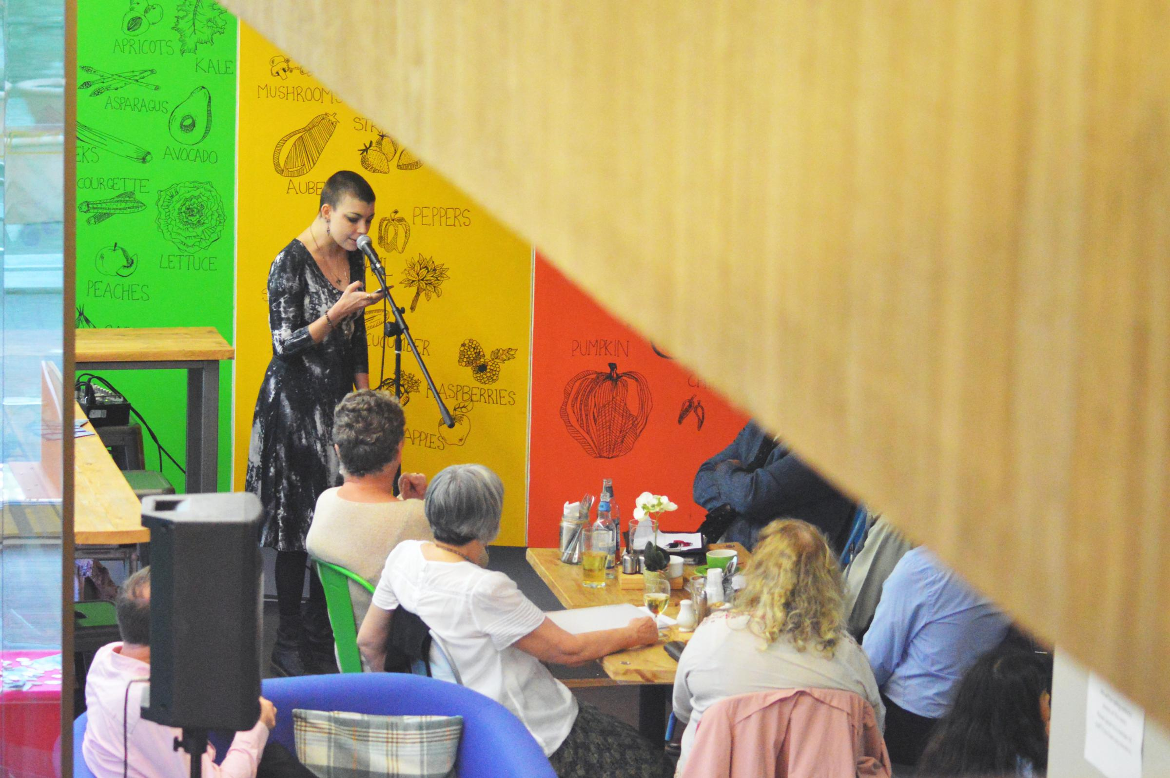 Write Out Loud Woking: Poetry Open Mic Night