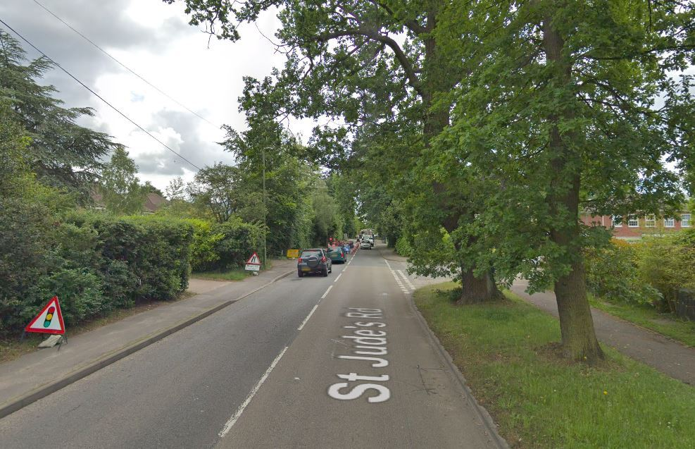 "A taxi driver in Egham has allegedly been ""robbed"" on Christmas Day by four passengers believed to have assaulted him."