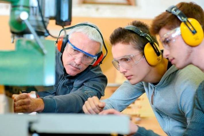 Apprenticeships proivde an alternative career path for young people.