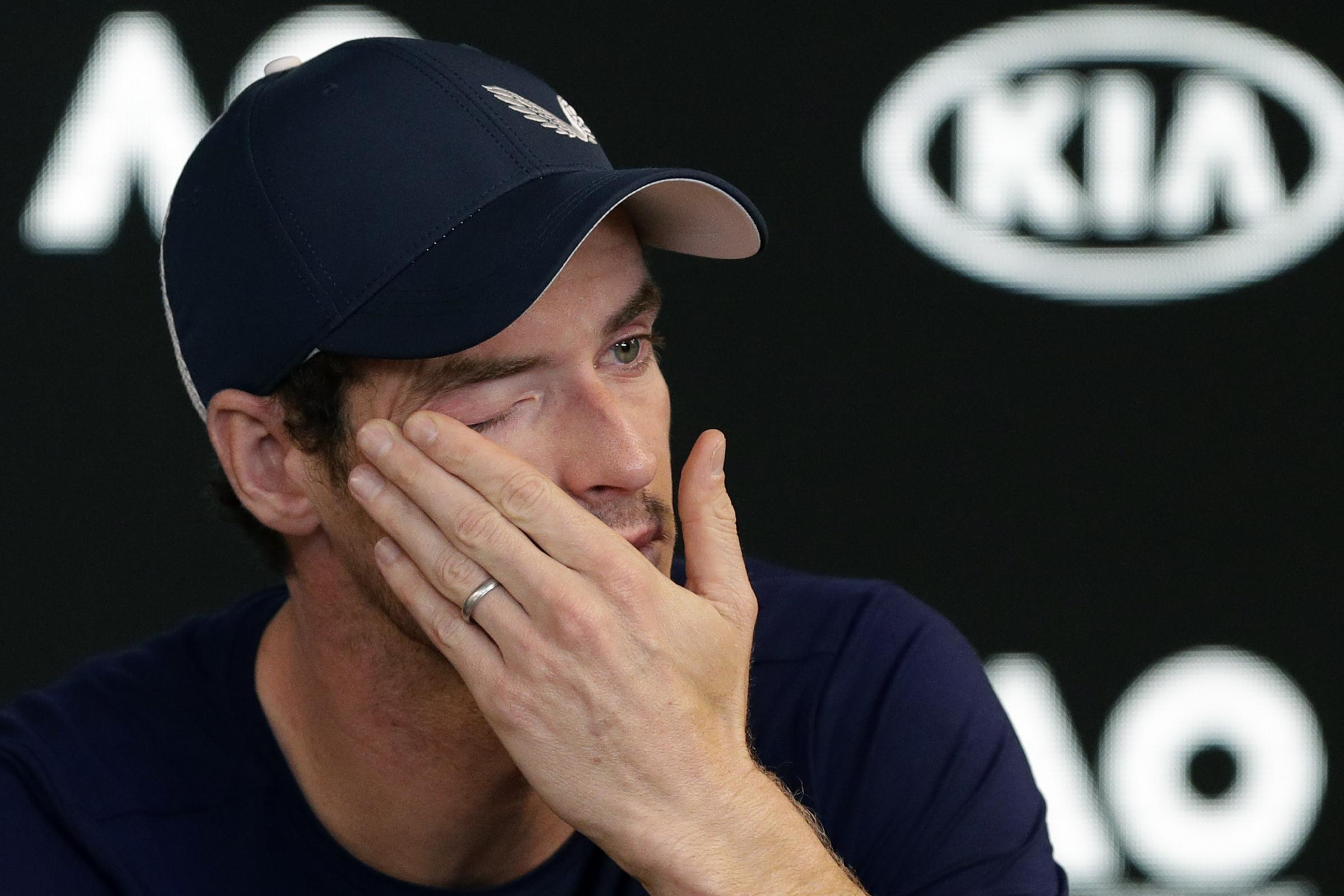 A tearful Andy Murray revealed plans to retire from tennis in the next few months