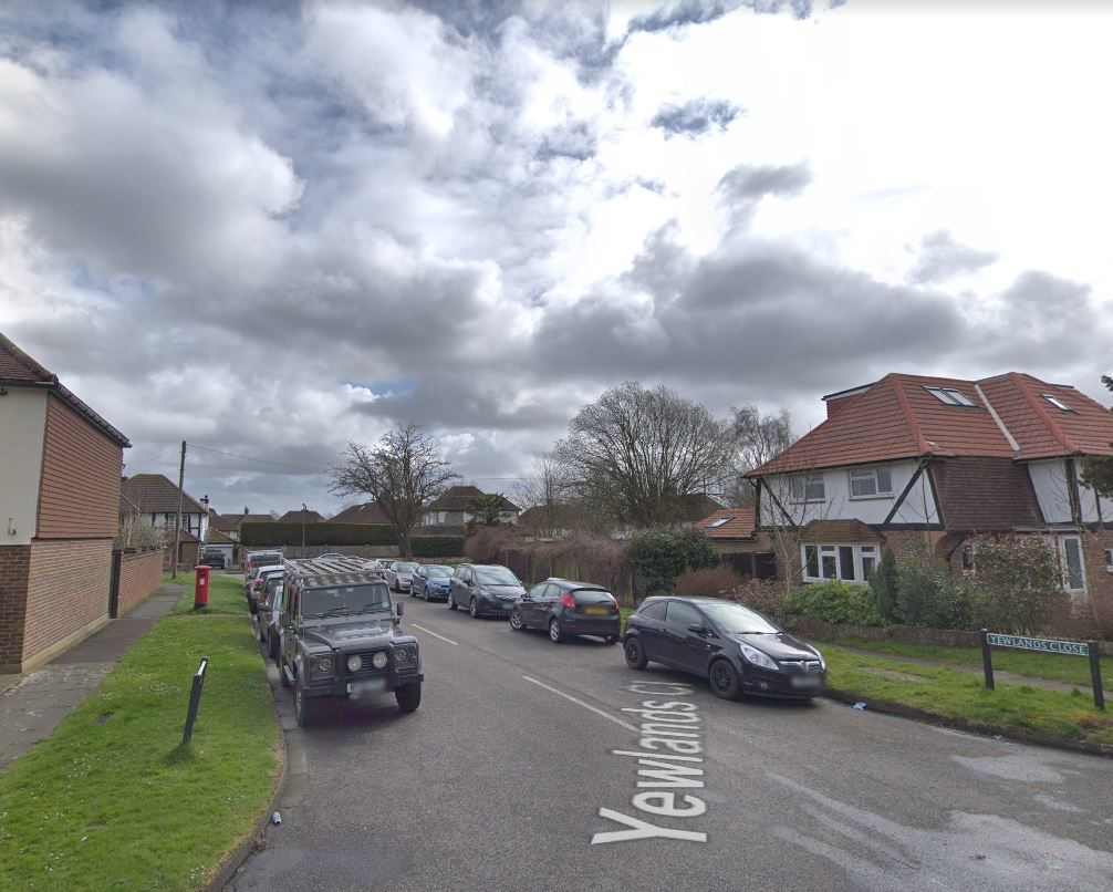 Yewlands Close. Photo: Google Maps / Street View