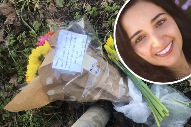 Floral tributes have been laid for Aliny Mendes following her murder