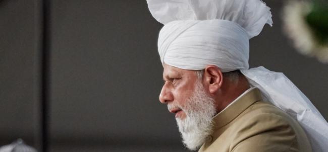 His Holiness Hazrat Mirza Masroor Ahmad. Image: Ahmadiyya UK