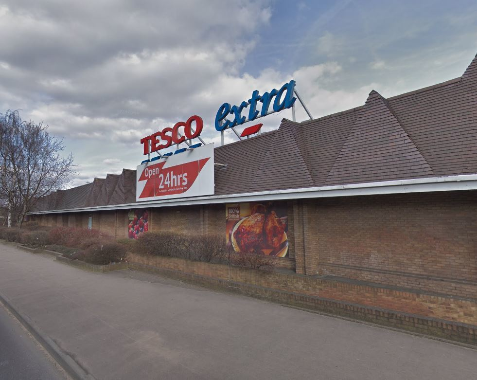 Tesco Extra in Beverley Way. Photo: Google Maps / Street View