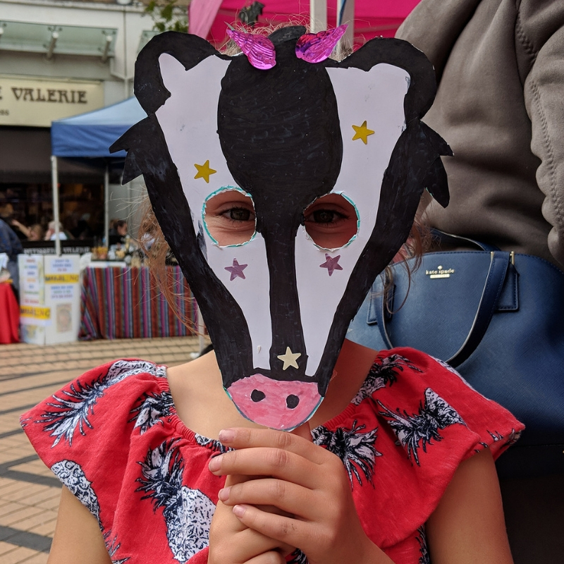 Mask Madness with Polka! (Mask and Craft for 7-11yrs)