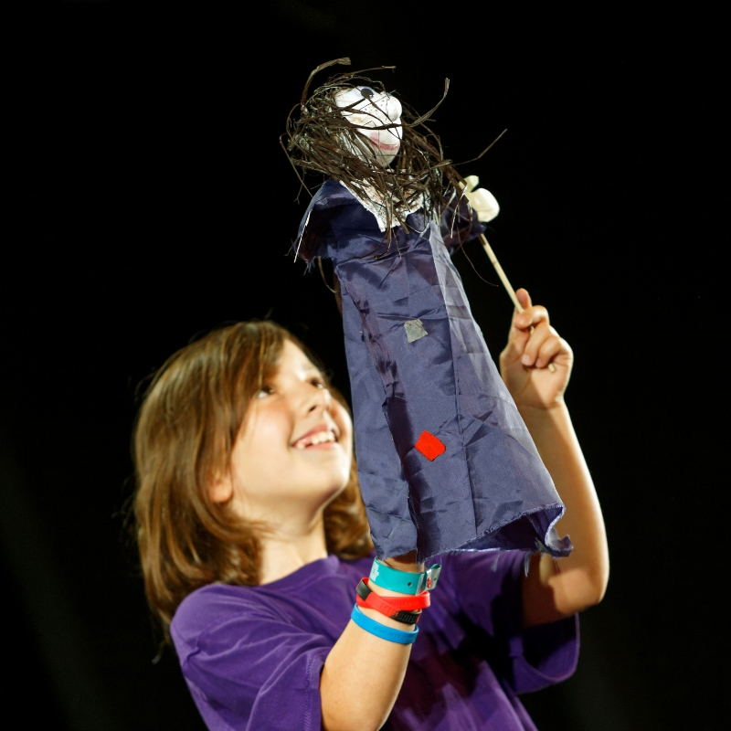 Puppet Craft with Polka! (Puppetry for 7-11yrs)