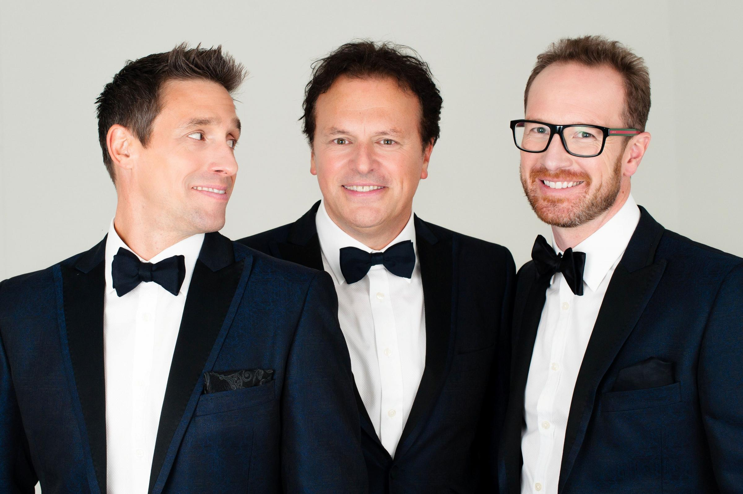 Tenors Unlimited the 'Rat Pack of Opera' Fundraising Concert