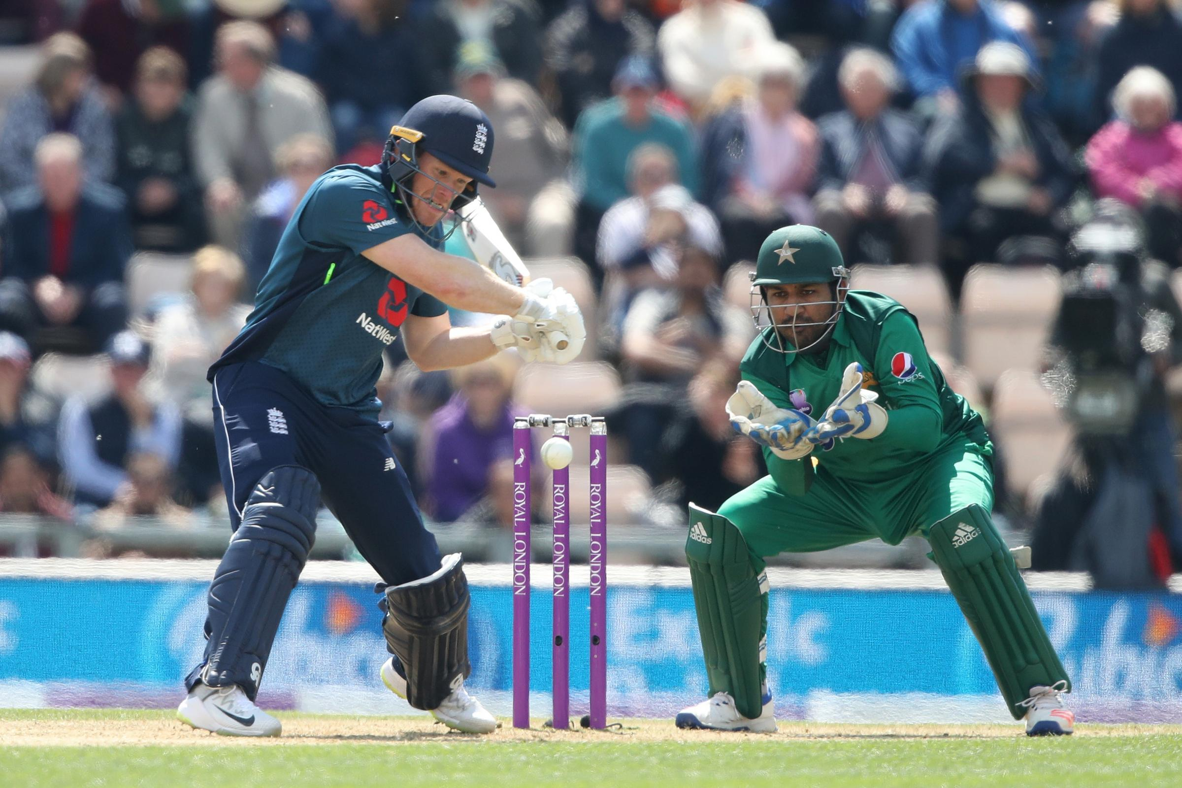 Eoin Morgan has been banned for the fourth one-day international against Pakistan